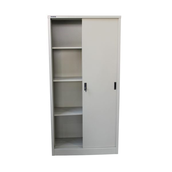 FULL HEIGHT STEEL SLIDING DOOR CUPBOARD (RGD 28A)