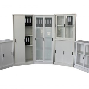 CURVED SLIDING CUPBOARDS